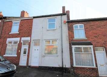 Thumbnail 2 bed terraced house to rent in Moss Street, Ball Green, Stoke-On-Trent