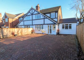 Thumbnail 3 bed semi-detached house for sale in Bramhall Lane South, Bramhall, Stockport