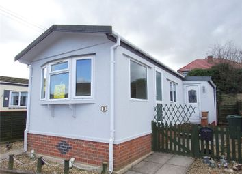 Thumbnail 2 bed mobile/park home for sale in Berkeley Close, Mountsorrel, Loughborough, Leicestershire