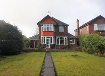 Thumbnail 3 bed detached house for sale in South Parade, Bramhall