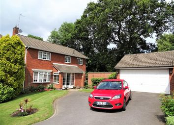 Thumbnail 4 bed detached house for sale in Foresters Close, Glenfield, Leicester