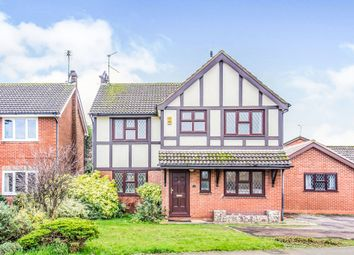 Thumbnail 4 bed detached house for sale in Riverside Way, Littlethorpe, Leicester