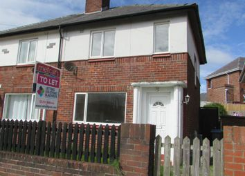 Thumbnail 2 bed semi-detached house to rent in Scorton Avenue, Blackpool, Lancashire