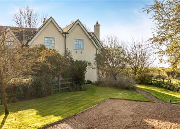 Thumbnail 3 bed semi-detached house for sale in Park Farm Cottage, Little Somborne, Stockbridge, Hampshire