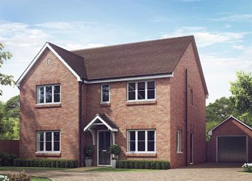 "Thumbnail 5 bed detached house for sale in ""The Marylebone"" at The Gallops, High Street, East Ilsley, Newbury"