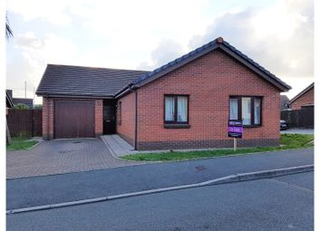 Thumbnail 3 bed detached bungalow for sale in Charles Thomas Avenue, Pembroke Dock