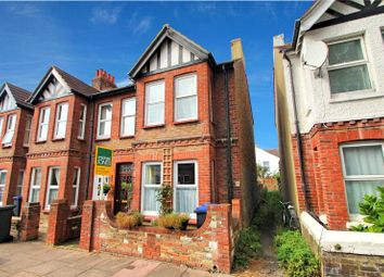 Thumbnail 3 bedroom end terrace house for sale in St Anselms Road, Worthing, West Sussex
