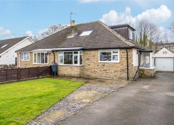 Thumbnail 3 bed semi-detached bungalow for sale in Church Avenue, Dacre Banks, Harrogate, North Yorkshire