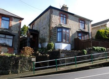 Thumbnail 3 bed semi-detached house for sale in St. Johns Road, Wroxall, Ventnor