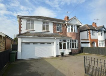 Thumbnail 4 bedroom detached house for sale in Winchester Road, Blaby, Leicester