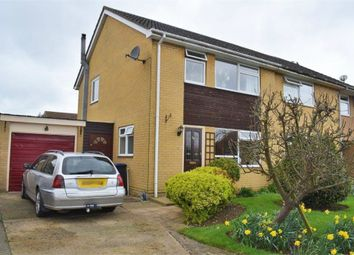Thumbnail 3 bed semi-detached house for sale in Elm Close, Witchford, Ely, Cambridgeshire