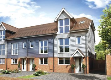 Thumbnail 3 bed end terrace house for sale in Hurricane Way, Hawkinge