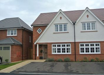Thumbnail 3 bed semi-detached house for sale in Miller Meadow, Leegomery, Telford, Shropshire.