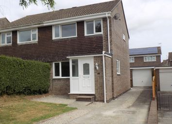 Thumbnail 3 bed semi-detached house to rent in Prideaux Road, Ivybridge