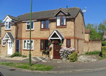Thumbnail 3 bed semi-detached house for sale in Winnet Way, Southwater, Nr Horsham, West Sussex