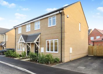 Thumbnail 3 bedroom semi-detached house for sale in Myrtlewood Road, Bury St. Edmunds