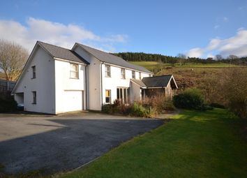 Thumbnail 7 bed detached house for sale in Llanafan, Aberystwyth