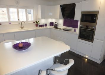 Thumbnail 4 bedroom detached house for sale in Broadway, Yaxley, Peterborough