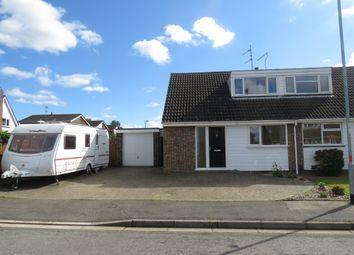 Thumbnail 3 bed semi-detached house for sale in Obelisk Rise, Kinsthorpe, Northampton