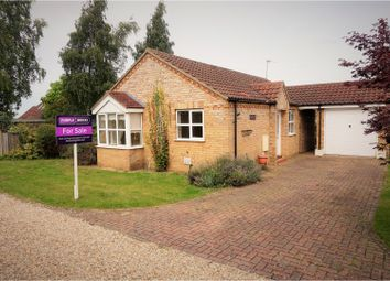 Thumbnail 3 bed detached bungalow for sale in Doncaster Gardens, Navenby