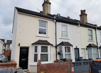 Thumbnail 3 bed end terrace house to rent in Victoria Road, Redhill