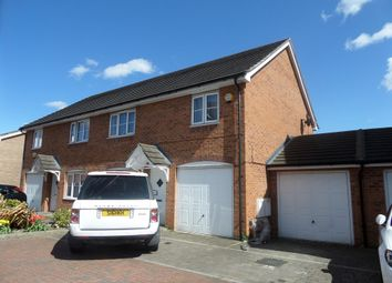 Thumbnail 4 bed semi-detached house for sale in Nine Acres Close, Hayes