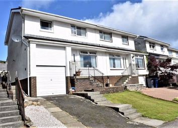 Thumbnail 3 bed semi-detached house for sale in 14, Drumillan Hill, Greenock