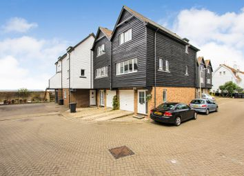 Thumbnail 3 bed town house for sale in Daniels Court, Island Wall, Whitstable