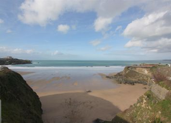 Thumbnail 3 bed flat to rent in Cliff Road, Newquay
