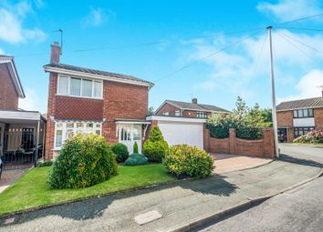 Thumbnail 3 bed detached house for sale in Wroxham Glen, Willenhall