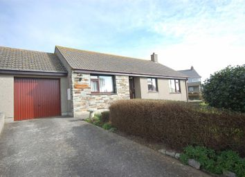 Thumbnail 3 bed semi-detached bungalow to rent in Vicarage Road, Porthleven, Helston