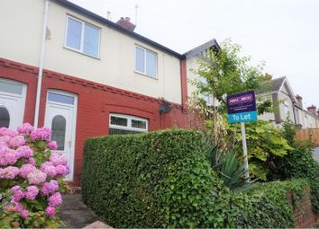 Thumbnail 3 bed terraced house to rent in Avenue Road, Doncaster