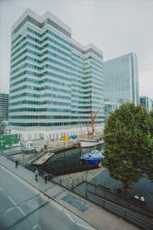 Thumbnail Serviced office to let in Marsh Wall, London