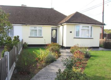 Thumbnail 2 bedroom semi-detached bungalow to rent in Plumberow Avenue, Hockley, Essex