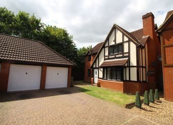 Thumbnail 4 bed detached house to rent in Harlequin Place, Shenley Brook End, Milton Keynes