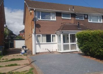 Thumbnail 3 bedroom end terrace house for sale in Marie Drive, Birmingham