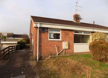 Thumbnail 2 bed semi-detached bungalow to rent in Cae'r Fferm, Caerphilly