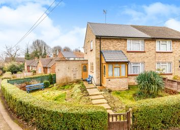 Thumbnail 3 bed semi-detached house for sale in Hockerill, Watton At Stone, Hertford