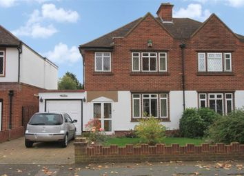 Thumbnail 3 bed semi-detached house for sale in The Grove, Ickenham, Uxbridge