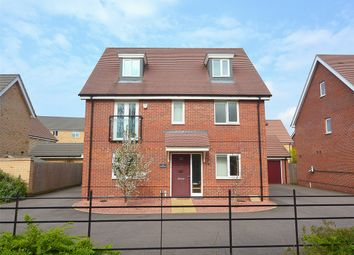 Thumbnail 5 bedroom detached house for sale in Vickers Way, Upper Cambourne, Cambridge