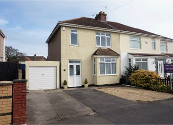 Thumbnail 3 bed semi-detached house for sale in Hillyfield Road, Bristol