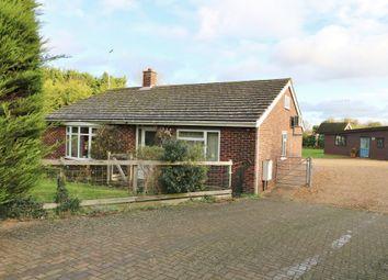 Thumbnail 3 bed detached bungalow for sale in Histon Road, Cottenham, Cambridge