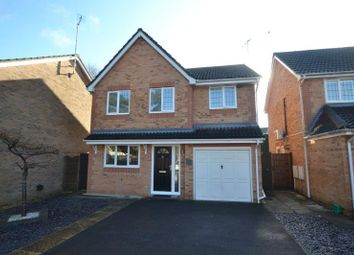Thumbnail 4 bed detached house for sale in Canada Way, Bordon