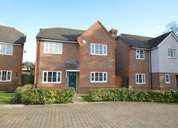 Thumbnail 4 bed detached house for sale in Knights Close, West Molesey