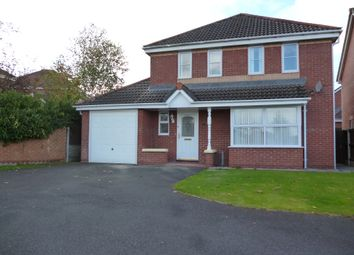 Thumbnail 4 bed detached house to rent in Hunters Crescent, Carlisle