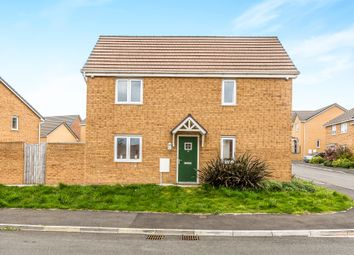 Thumbnail 3 bed detached house for sale in Heol Bryncethin, Sarn, Bridgend