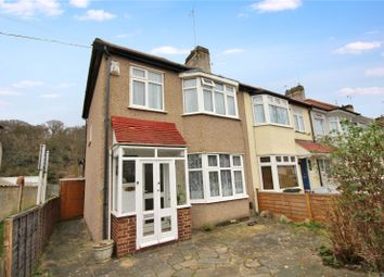 Thumbnail 2 bed end terrace house for sale in Woodbrook Road, Abbey Wood, London