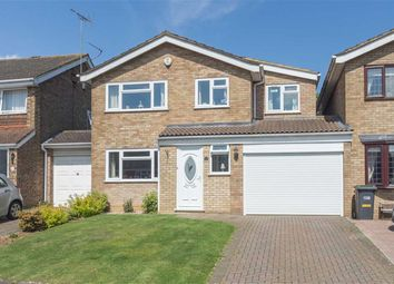 Thumbnail 4 bedroom detached house for sale in Leyhill Drive, Luton