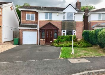 Thumbnail 4 bed detached house for sale in Llanfedw Close, Badgerswood, Caerphilly