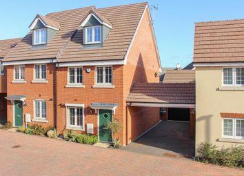 Thumbnail 3 bed semi-detached house for sale in Veritas Grove, Leighton Buzzard